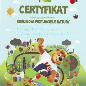MP23_Kubusiow przyjaciele natury